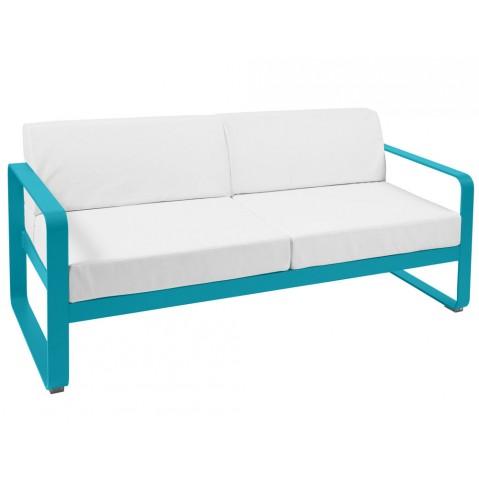 Canapé BELLEVIE de Fermob, Bleu turquoise