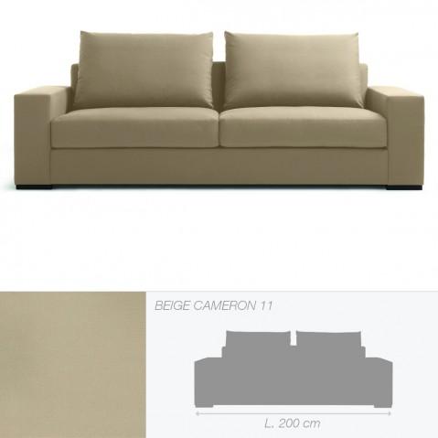 Canapé BRAD 2,5 places de Marie's Corner beige Cameron 11