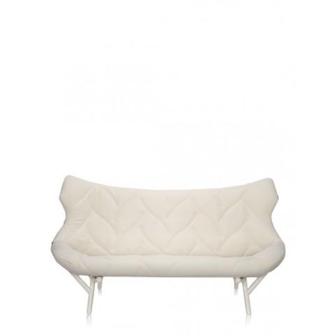 Canapé FOLIAGE de Kartell, Blanc, Structure Blanc