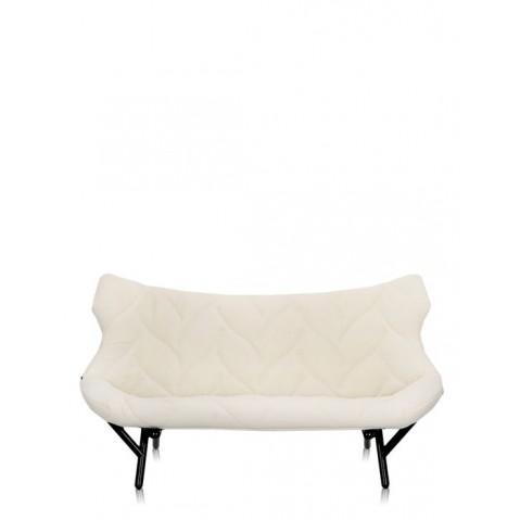 Canapé FOLIAGE de Kartell, Blanc, Structure noir