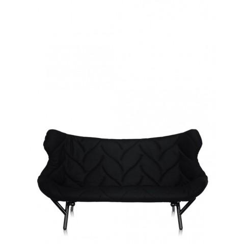 Canapé FOLIAGE de Kartell, Noir, Structure noir