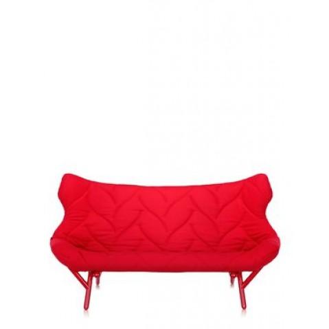 Canapé FOLIAGE de Kartell, Rouge, Structure rouge