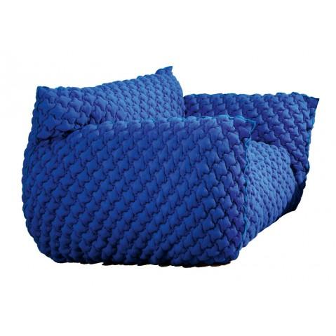 Canapé NUVOLA 10 de Gervasoni-Bleu