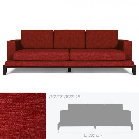 Canapé OAKLAND de Marie's Corner rouge
