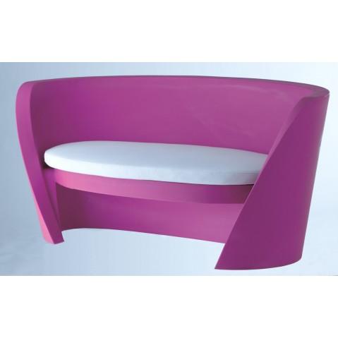 Canapé RAP de Slide magenta