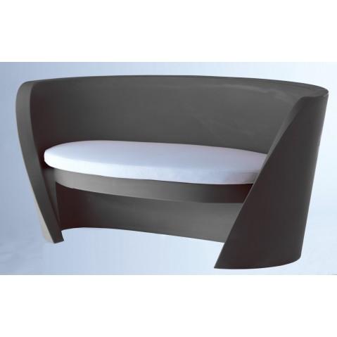 Canapé RAP de Slide noir