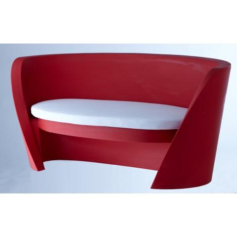 Canapé RAP de Slide rouge