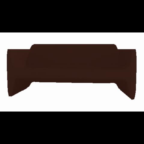 Canapé/Sofa TRANSLATION Qui est Paul Chocolat Coussin Gris