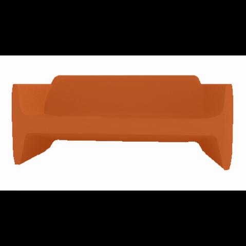 Canapé/Sofa TRANSLATION Qui est Paul Orange Coussin Gris