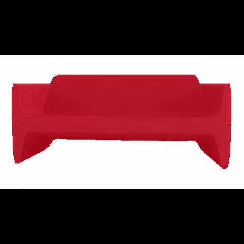 Canapé/Sofa TRANSLATION Qui est Paul Rouge Coussin Gris