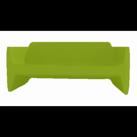 Canapé/Sofa TRANSLATION Qui est Paul Vert Coussin Gris
