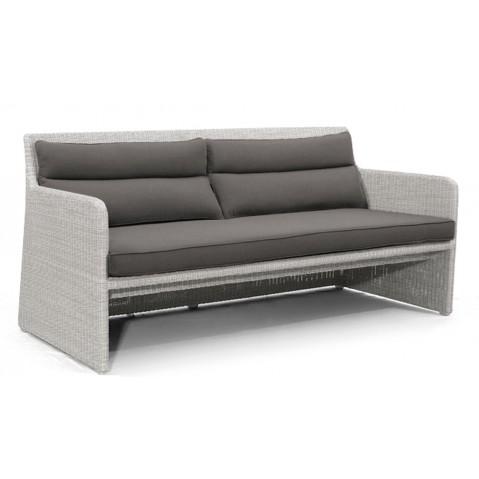 Canapé SWING de Manutti blanc et gris pierre