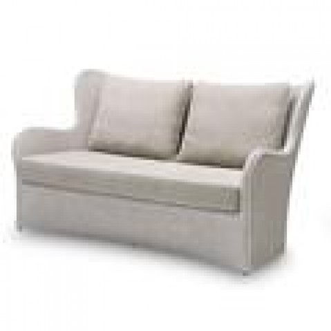Canapés Vincent Sheppard Butterfly Lounge Sofa Black wash-02