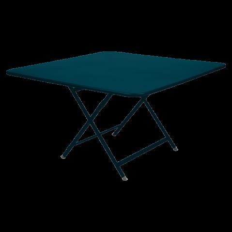 Table pliante CARGO de Fermob, bleu acapulco