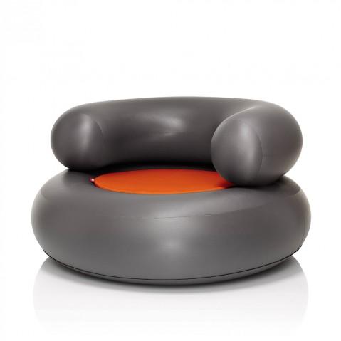 CH-air Anthracite de Fatboy, coussin Orange