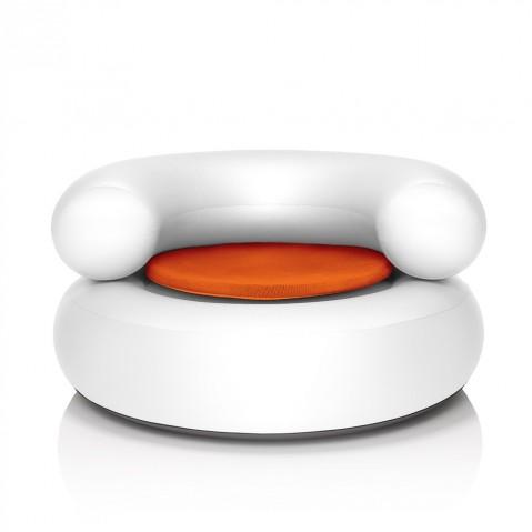 CH-air Blanc de Fatboy, coussin Orange