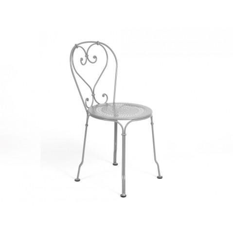 Chaise 1900 de Fermob gris métal