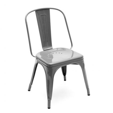 Chaise AC de Tolix acier brut, 3 finitions