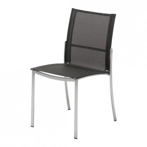 Chaise acier FUSION de Gloster, Mercure