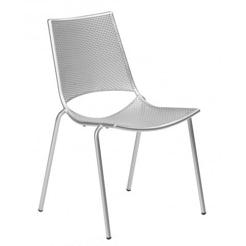 Chaise ALA de Emu blanc