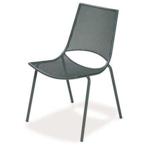 Chaise ALA de Emu fer ancien