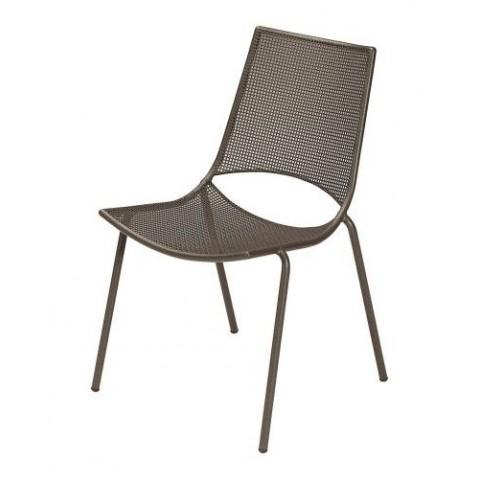 Chaise ALA de Emu marron d'inde