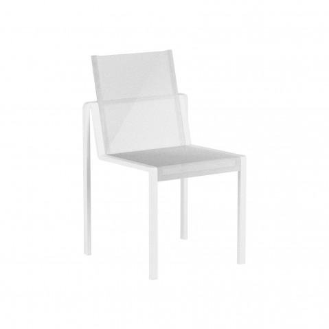 Chaise ALURA de Royal Botania, Blanc