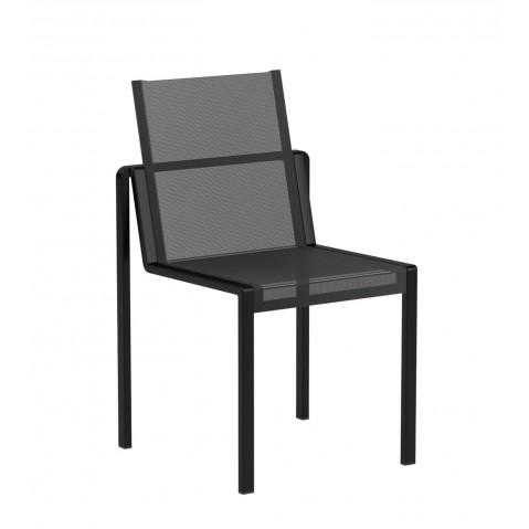 Chaise ALURA de Royal Botania, Noir