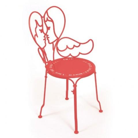 Chaise ANGE de Fermob, Capucine