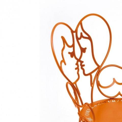 Chaise ANGE de Fermob carotte