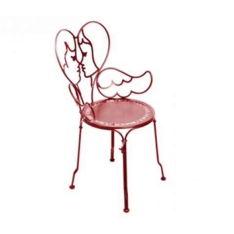 Chaise ANGE de Fermob piment