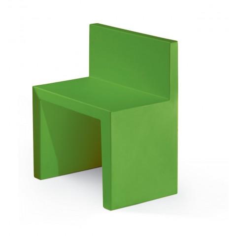 Chaise ANGOLO RETTO de Slide vert lime