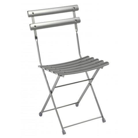 Chaise ARC EN CIEL de Emu aluminium