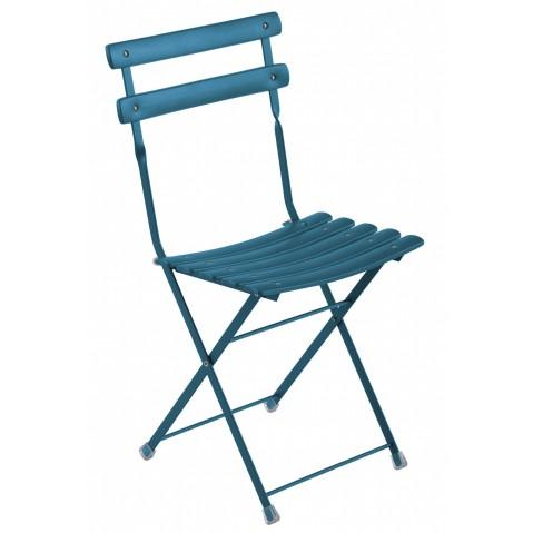Chaise ARC EN CIEL de Emu bleu