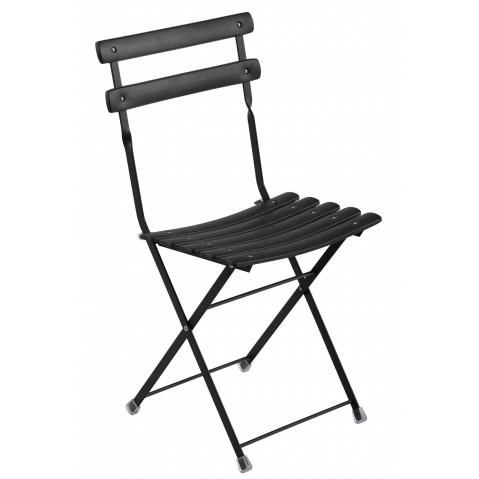 Chaise ARC EN CIEL de Emu noir