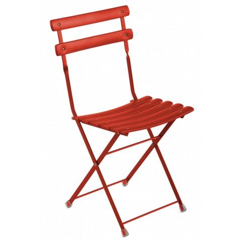 Chaise ARC EN CIEL de Emu rouge écarlate