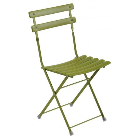 Chaise ARC EN CIEL de Emu vert