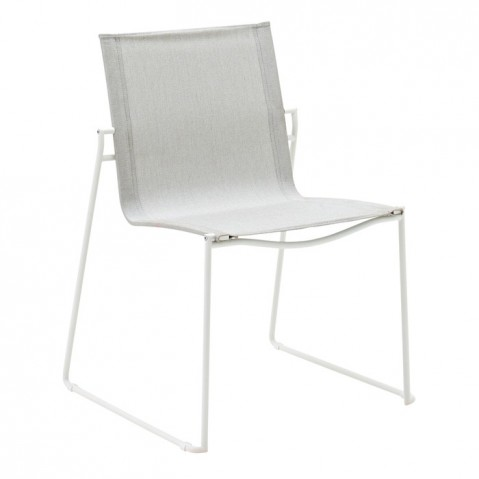 Chaise ASTA de Gloster, White/Seagull