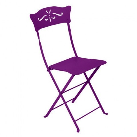 Chaise BAGATELLE de Fermob aubergine