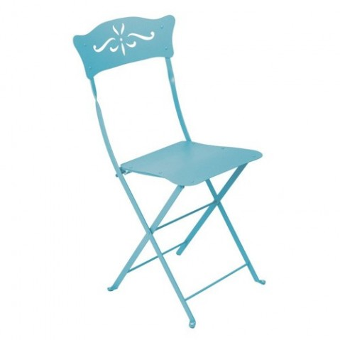 Chaise BAGATELLE de Fermob bleu turquoise
