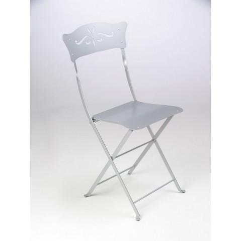 Chaise BAGATELLE de Fermob gris métal