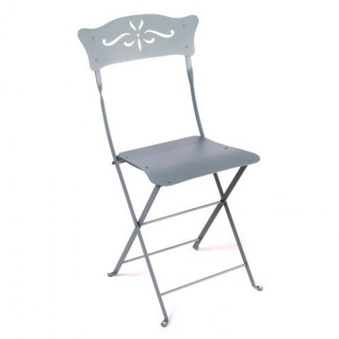 Chaise BAGATELLE de Fermob gris orage