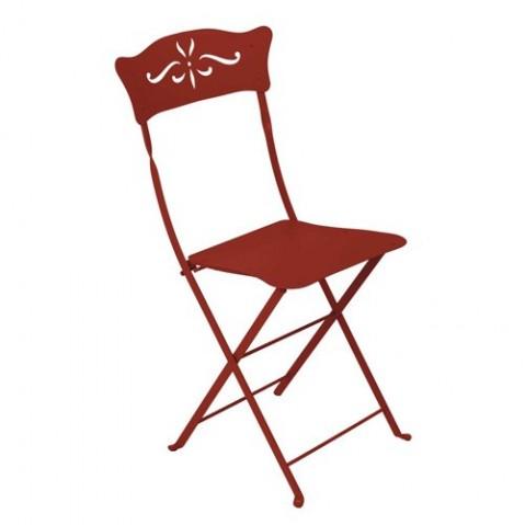 Chaise BAGATELLE de Fermob piment