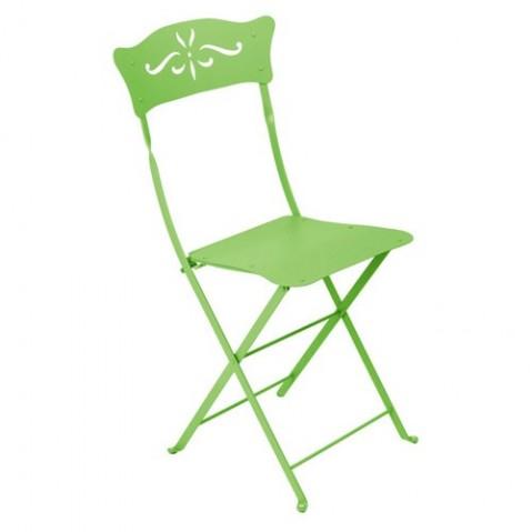 Chaise BAGATELLE de Fermob vert prairie