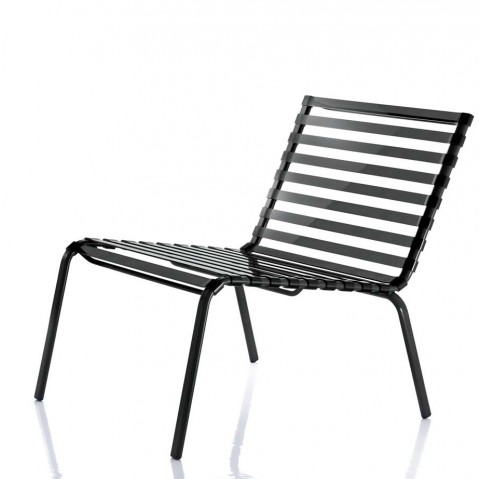 Chaise basse STRIPED POLTRONCINA de Magis