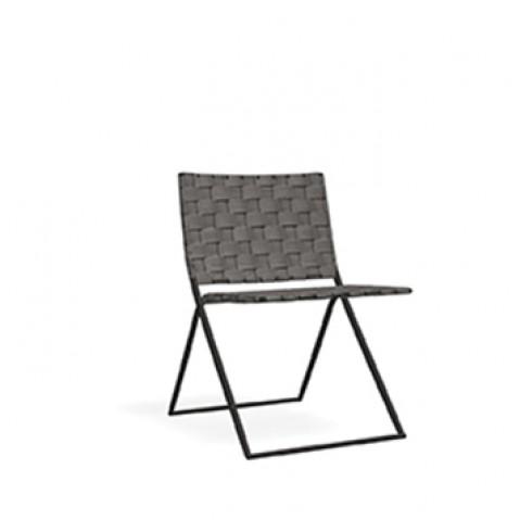 Chaise BERENICE 360 de Roda, gris