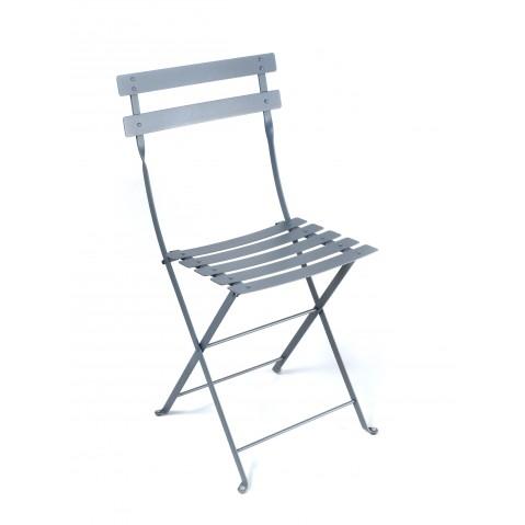 Chaise BISTRO métal de Fermob gris orage