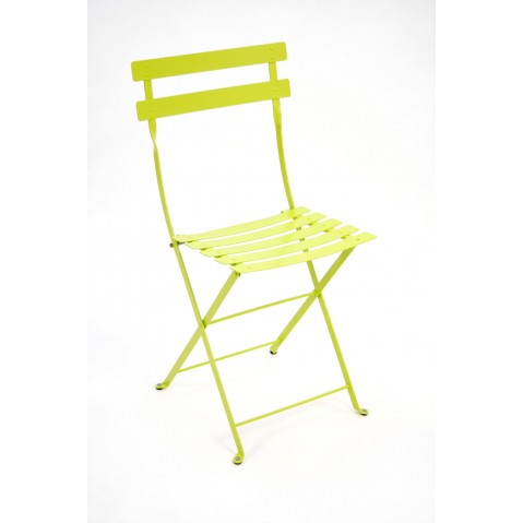 chaise bistro m tal de fermob verveine. Black Bedroom Furniture Sets. Home Design Ideas