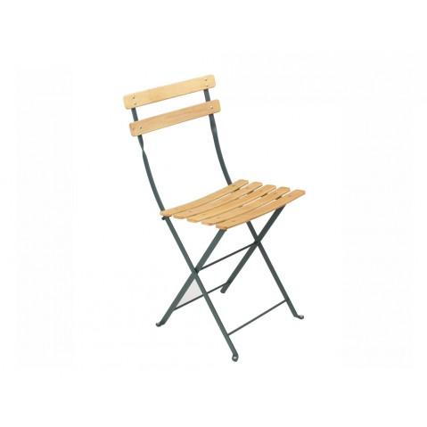 chaise bistro naturel bois de fermob c dre. Black Bedroom Furniture Sets. Home Design Ideas
