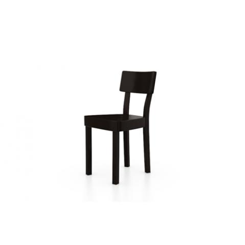 Chaise BLACK 123 de Gervasoni, Noir